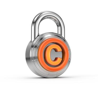 copyright plagiarism lock