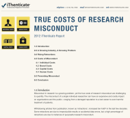 costs of research plagiarism