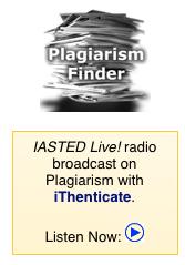 plagiarism iasted broadcast